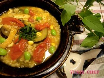夏野菜の梅リゾット.jpg