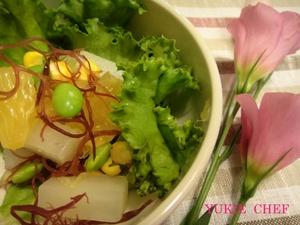 蒸し大根とふのりのサラダ.jpg